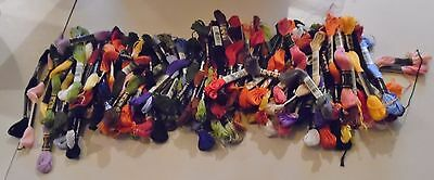 Large Lot DMC Embroidery Thread - Assorted Colors