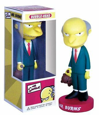 Mr Burns The Simpsons Bobblehead by FUNKO Series 1 New in Box!  BRAND NEW!!!