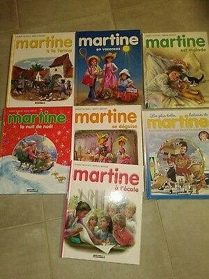 Lot de livres enfant collection Martine