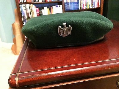 West German Border Guard Beret with Badge