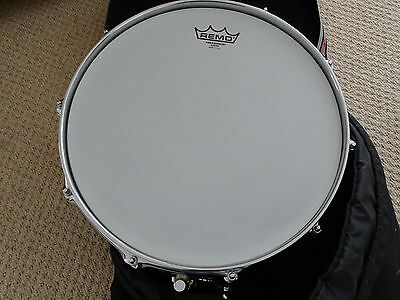 "Pearl Sensitone 14"" x 6.5"" Snare Drum - with Protection Racket case"