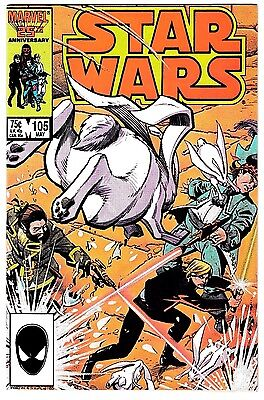 STAR WARS #105 (NM) Hard to Find! High Grade! Marvel 1986 Han Solo Princess Leia