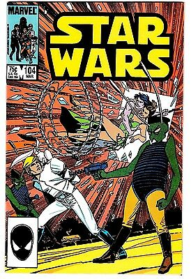 STAR WARS #104 (NM) Hard to Find! High Grade! Princess Leia! Luke Skywalker!