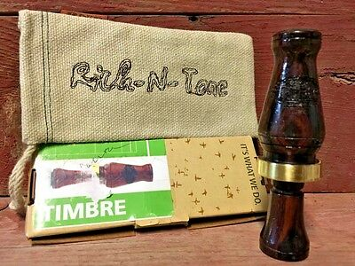 RNT CALLS RICH N Tone Timbre Duck Call--Cocobolo Wood