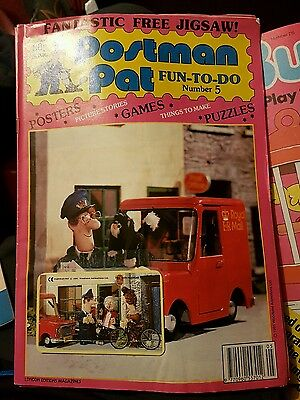 Postman Pat Comic - Fun to do - Number 5 with jigsaw still attached