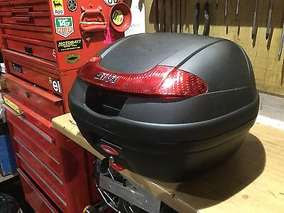 Givi Top Box Back Box With Upgraded Givi High Security Lock And Mounting Plate