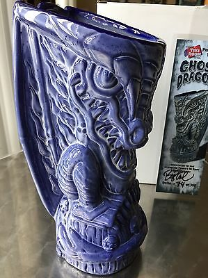 Frankie's Tiki Farm Room Big Toe Anniversary Mug 8th Ghost Dragon NIB