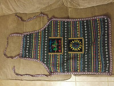 Hand Woven/embroidered Oriental/far Eastern Apron