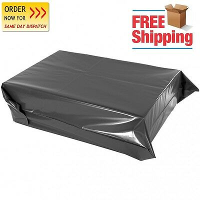 """1000 Strong Grey Bags Poly Mailing  Postage Postal 6"""" X 9"""" Self Seal Quality"""