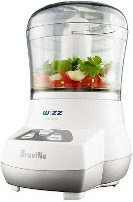 Food Processor Breville Electric Chop Whisk Grind Compact Chopper Crusher New