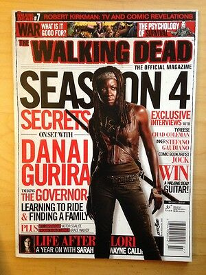WALKING DEAD THE OFFICIAL MAGAZINE #7 (2014) MICHONNE COVER / Danai Gurira