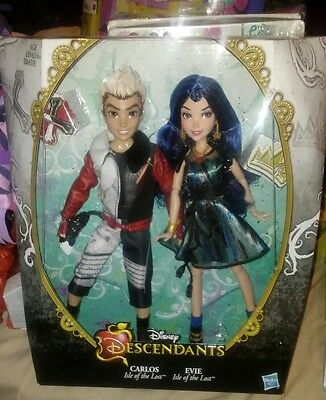 Disney Descendants Dolls Two Pack Carlos And Evie Isle Of The Lost