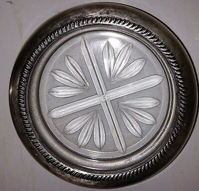 Sterling Silver Lined Ash Tray