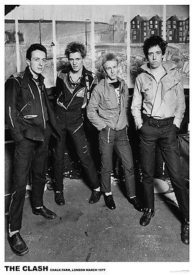 "The Clash Chalk Farm, London March 1977 Poster UK Import  23.5"" x 33"""