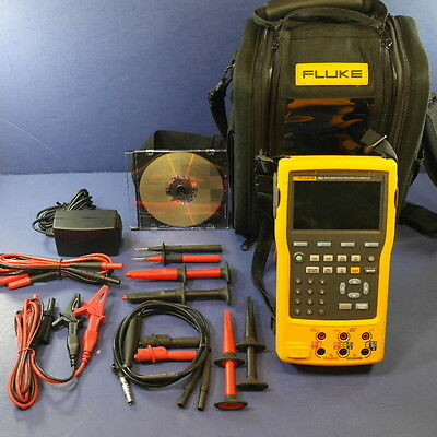 New Fluke 754 Documenting Process Calibrator DPC, Case, Accessories!