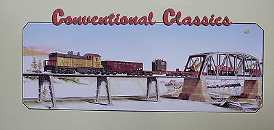 Lionel Conventional O-ga. Classic #1593 UP NW-2 Diesel Work Train Set 6-31784