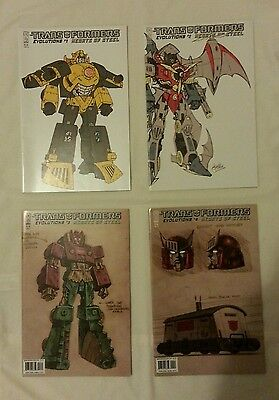 Transformers Evolutions: Hearts of Steel comics 1-4 (full set)