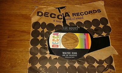 Blue hours by Wayne King 45rpm