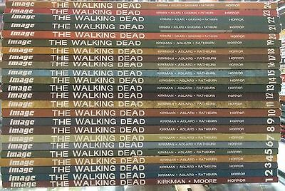 The Walking Dead image graphic novels 1-24 collection