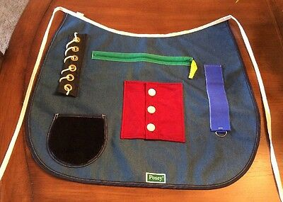 POSEY Adult Cognitive Therapy Multi-Color Activity Apron One Size  7400