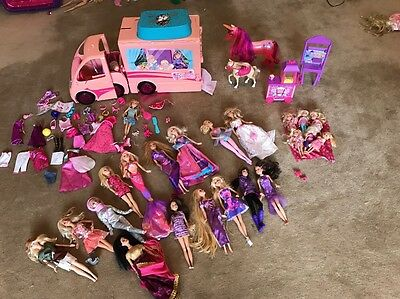 barbie campervan with Dolls And Accessories