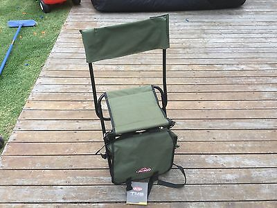Berkley Back Pack Bag And Folding Chair, Two Items Sold Together