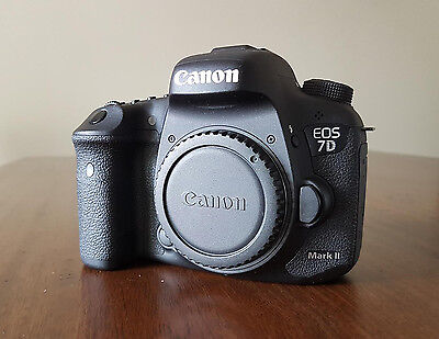 Canon  EOS 7D Mark II 20.2 MP Digital SLR Camera - Black (Body Only) *USED*