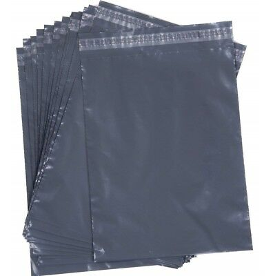 "Grey Mailing Bags Strong Poly Postal Postage Self Seal 6""x 9"" 9""x 12"" 10""x14"""