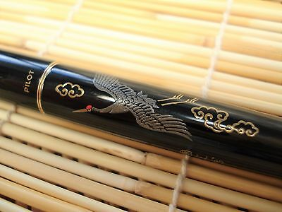 PILOT (NAMIKI) Japanese Fountain Pen Valuable Lacquered Crane with Converter