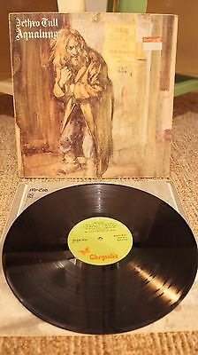 Jethro Tull ‎– Aqualung UK FIRST PRESSING Textured Sleeve Vinyl LP 1971