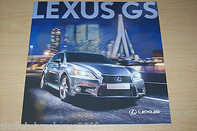 LEXUS - The GS Sales Brochure 10/2014