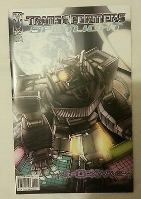 Transformers Spotlight: Shockwave (cover A) 2006 IDW