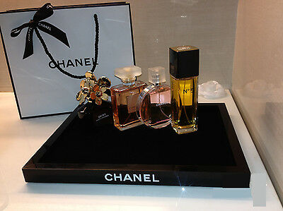 Chanel Vip Gift Vanity Tray Holder Cosmetic Make Up Holder