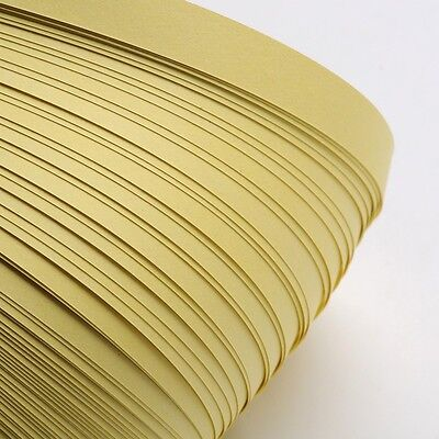 120pcs QUILLING PAPER STRIPS - PALE GOLDENROD - DIY papercraft craft wholesale