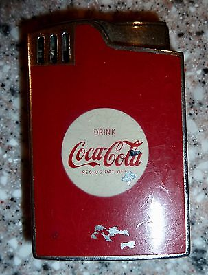 RARE Blue Bird COCA COLA Musical Lighter