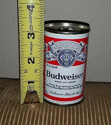 Vintage Budweiser Can Tabletop Lighter - Tiny  - Great Condition!!!