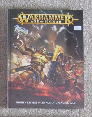 Warhammer Age Of Sigmar Rulebook - Hardcover - Brand New/Sealed