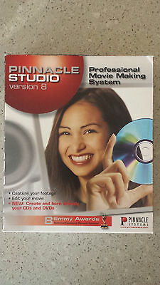 PINNACLE STUDIO 8 - Video Editing with CD & DVD Authoring Software PC Windows