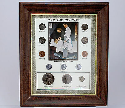 War Time Coinage Norman Rockwell Freedom From Fear Coin Set