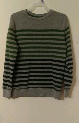 OLD NAVY boy's SZ 8 striped   Pullover sweater  Long sleeve