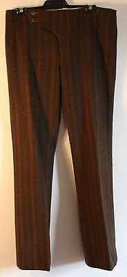 ORIGINAL SMALL SIZE, MENS 1970's HIPSTER FAIRED PANTS. MASTERBUILT BY MARK ALLEN