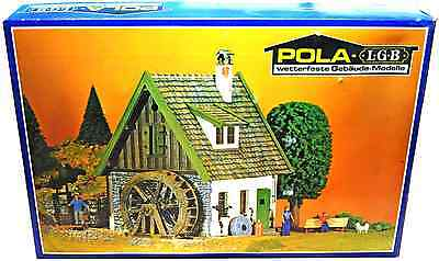 Pola - LGB Watermill - Set # 935 - MINT CONDITION LGB Compatible painted kit