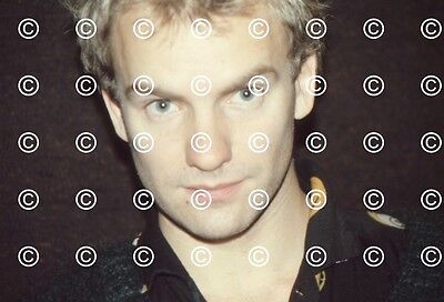 THE POLICE WISSELOORD STUDIOS 00/07/80 11 Original 35mm Slides With Copyright