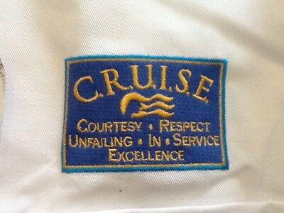 New Chef Jacket L. Authentic Princess Cruises