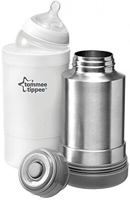Tommee Tippee Closer To Nature Travel Flask Bottle Food Drink Milk Warmer Baby