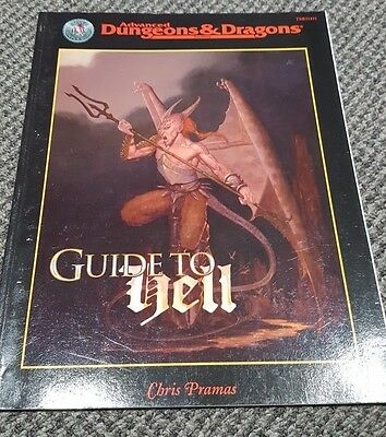 Guide to Hell - Advanced Dungeons & Dragons 2nd Edition - TSR 11431