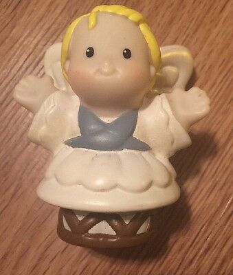 Fisher Price Little People Christmas Nativity Replacement Angel Manger Fig