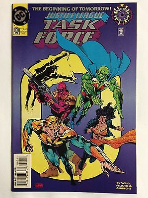The Beginning of Tomorrow, Justice League Task  Force #0 (DC Comics)