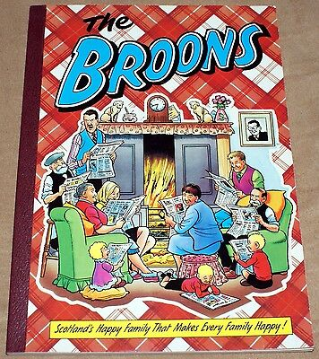 The Broons Annual 1993 D.C. Thomson Paperback Comic Book VGC