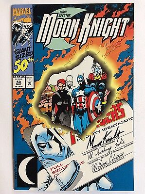 Marc Spector: Moon Knight # 50 (Marvel Comics) die cut cover